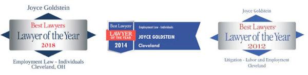 Joyce Goldstein - Best Lawyers Award